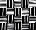 stock image of  Hand drawn black stripes background
