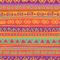 Hand drawn bright and fresh folkloric seamless pattern all objects are conveniently grouped are easily editable Stock Photos