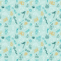 Hand drawn children drawings color seamless pattern. Doodle children drawing background. Background for cute little boys Royalty Free Stock Photo