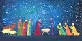 Hand drawn Christmas illustration Royalty Free Stock Photo