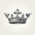 Hand drawn crown