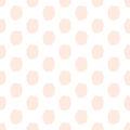 Hand-drawn dots seamless pattern