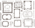 Hand - drawn elements for design Royalty Free Stock Photo