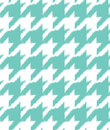 Hand drawn ikat houndstooth seamless pattern Royalty Free Stock Photo