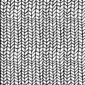 Hand drawn pattern texture repeating seamless monochrome, black and white. vector. Stylish fashion doodle Royalty Free Stock Photo