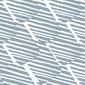 Hand drawn scribble seamless pattern. Abstract geometric striped shapes texture