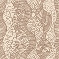 Hand drawn seamless pattern Royalty Free Stock Images