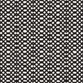 Hand drawn seamless pattern. Abstract geometric tiling background in black and white. Vector stylish doodle line lattice Royalty Free Stock Photo