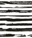Hand drawn seamless pattern. Vector modern background stripe design.