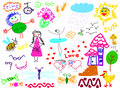 Hand drawn Royalty Free Stock Photo