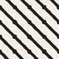Hand drawn style ethnic seamless pattern. Abstract geometric tiling background in black and white. Vector freehand