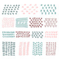 Hand Drawn textures pastel colors Royalty Free Stock Photo