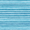 Hand drawn vector grunge stripes of cold blue colors seamless pattern on the light background Royalty Free Stock Photo