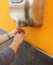 Hand Dryer Royalty Free Stock Photo