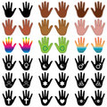 Hand Elements Royalty Free Stock Photos