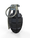 Hand grenade isolated on white background d render Royalty Free Stock Photography