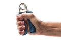 Hand grip exercise tool Royalty Free Stock Photo