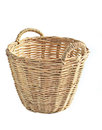 hand made basket Royalty Free Stock Photo