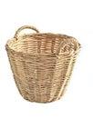 hand made basket Royalty Free Stock Photo