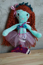 Hand made Doll and clothes toy