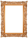 Hand-made picture frame Stock Photo