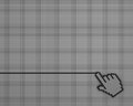 Hand mouse pointer background Royalty Free Stock Image