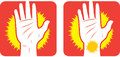 Hand pain Icon Stock Image