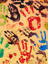 Hand Paint Stock Photography