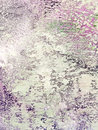 Abstract hand painted canvas background with white brush strokes