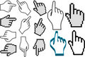 Hand pointer set