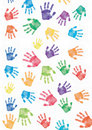Hand print background Royalty Free Stock Photos