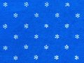 Hand printed blue fabric traditional dyed from hungary Stock Photos