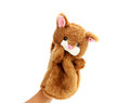 Hand puppet Royalty Free Stock Photo