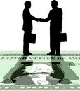Hand_shake_deal Imagem de Stock Royalty Free