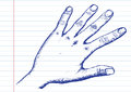 Hand Sketch By Pen