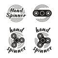 Hand Spinner emblems