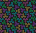 Hand Spinners Seamless pattern