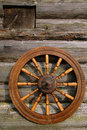Hand Spinning Wheel Stock Photography