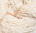 Hand Spun Yarn Royalty Free Stock Photo