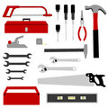 Hand Tools Collection Royalty Free Stock Images