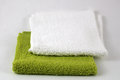 Hand towel fluffy soft cotton Stock Image