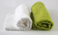 Hand towel fluffy soft cotton Stock Photography