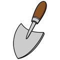 Hand Trowel Royalty Free Stock Photo