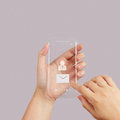 Hand use touch screen mobile phone with email icon as concept Royalty Free Stock Photos