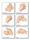 Hand washing Royalty Free Stock Photo