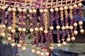 Hand weaving item Royalty Free Stock Photo
