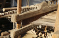 Hand Weaving loom detail Stock Image