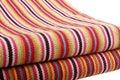 Hand-woven cloth Royalty Free Stock Photo