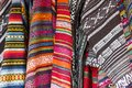 Hand-woven cotton fabric Royalty Free Stock Photo