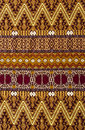 Hand woven Guatemalan tapestry Royalty Free Stock Images